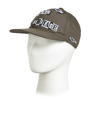 Made In Italy Punk Poem Baseball Cap