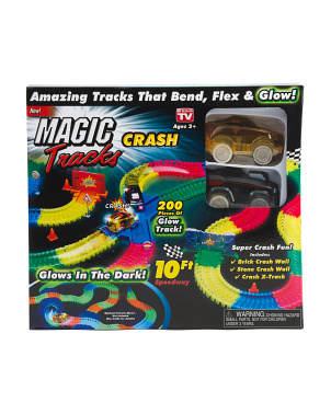 Glow In The Dark  Crash  Set