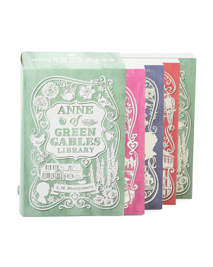 Anne Of Green Gables Library Box Set