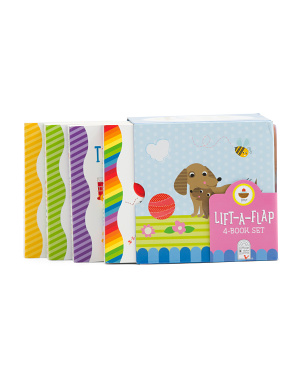 4pk Chunky Lift A Flap Babies Love Book Set