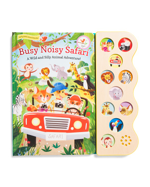 Busy Noisy 10 Button Sound Board Book