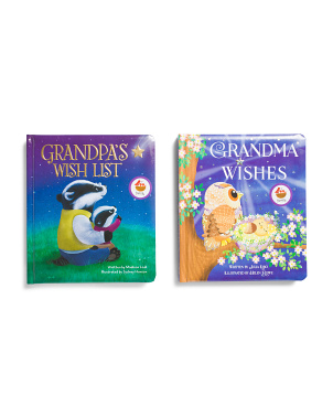 Set Of 2 Grandma Wishes & Grandpas Wish List