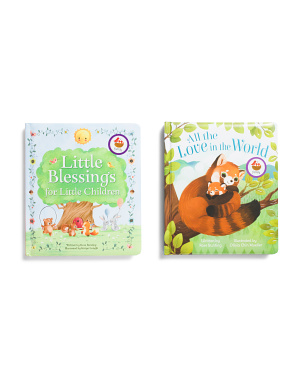 2pk Little Blessings & All The Love In The World Books