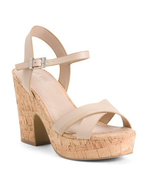 Ankle Strap Platform Bottom Sandals