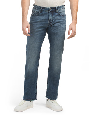 Regent Relaxed Straight Fit Jeans