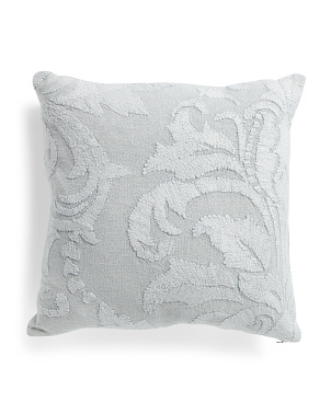 22x22 Linen Blend Textured Pillow