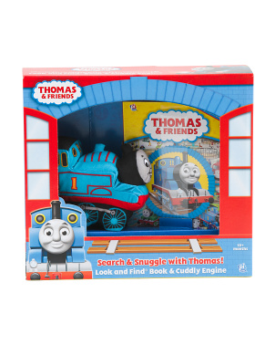 Look & Find Book And Cuddly Thomas Box Set