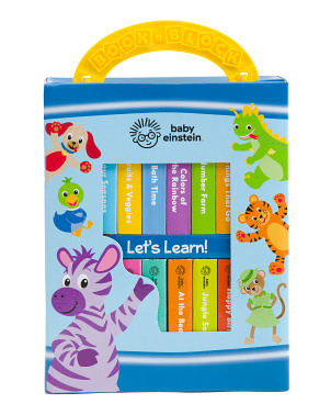 Baby Einstein My First Library 12 Board Book Set