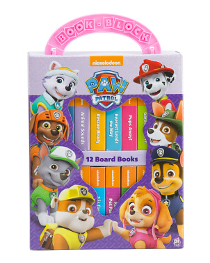 Paw Patrol My First Library 12 Board Book Set