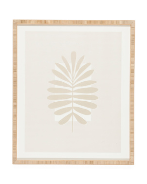 19x22.5 Alisa Galitsyna Tropical Leaves Wall Art
