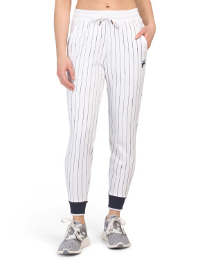 Pinstripe Sweatpants