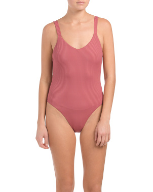 Made In Usa Ecorib Leah Swimsuit