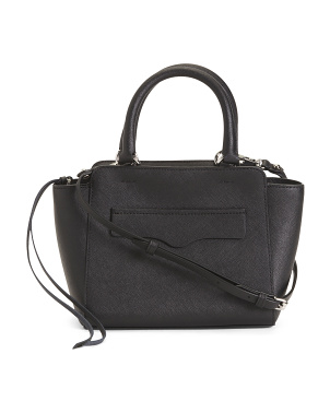 Avery Saffiano Leather Mini Tote