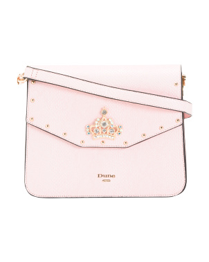 Studded Crown Crossbody