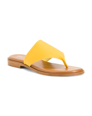 Made In Italy Thong Toe Sandals