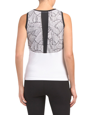 Tennis Scoop Neck Tank