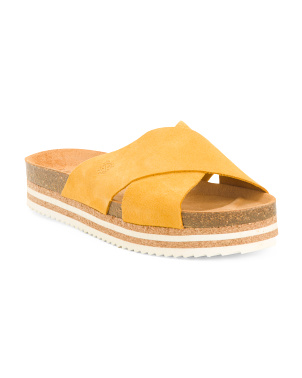 Made In Spain X-band Leather Sandals
