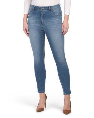 Petite Muffin Top Eliminator Skinny Jeans