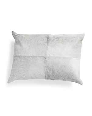 14x20 Genuine Haircalf Front Pillow