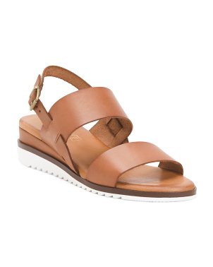 Made In Spain Comfort 2 Band Leather Sandals
