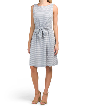 Rope Chambray Cotton Chelsea Dress