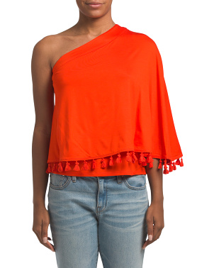 Made In Usa Pomona One Shoulder Top