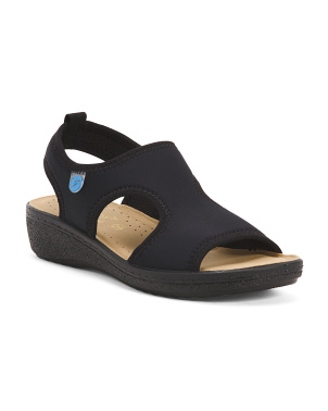 Made In Italy Scuba Stretch Sandals