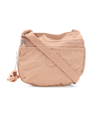 Emmylou Nylon Zipper Pocket Crossbody