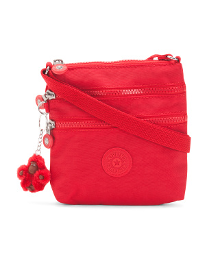 Alvar Nylon  Mini Double Zip Crossbody