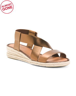 Made In Spain Espadrille Flat Sandals