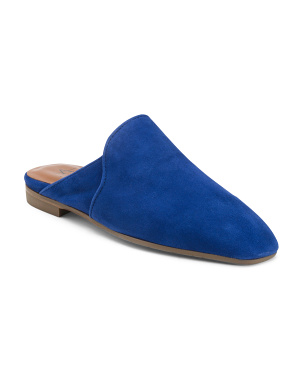 Made In Italy Suede Mules