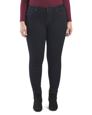 Plus High Waist Skinny Jeans