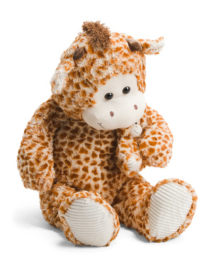 44in Giraffe With Baby Plush Animal