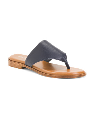 Made In Italy Thong Sandals