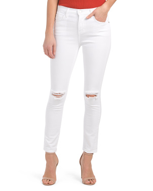 Made In Usa High Waist Stiletto Jeans