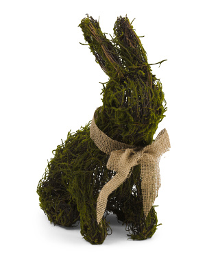 18in Twig Moss Bunny