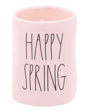 7.7oz Happy Spring Candle