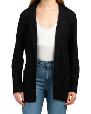 Boyfriend Jacket With Pockets