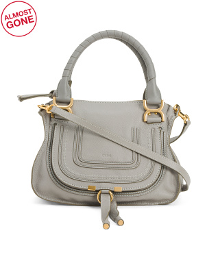 Made In Italy Small Leather Handbag