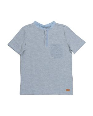 Big Boys Henley Tee