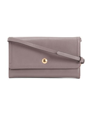 Leather Benson Smartphone Crossbody
