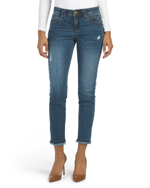 Ab Tech Destructed Ankle Jeans
