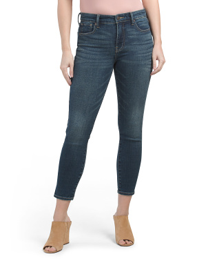 Ava Mid Rise Crop Jeans