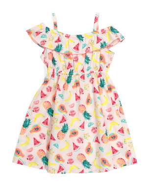 Little Girls Fruit Senorita Dress