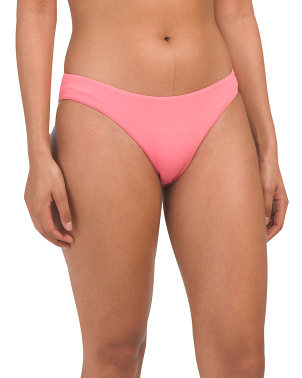 Ruched Back Hipster Bikini Bottom