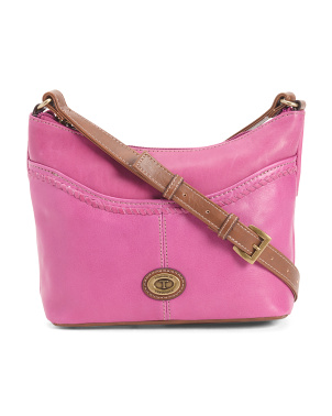 Leather Crosby Crossbody