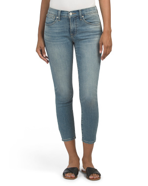 Mid Rise Ava Crop Jeans