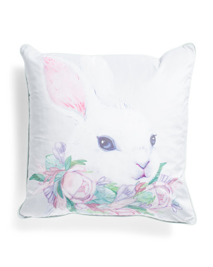 20x20 Refined Portrait Easter Pillow