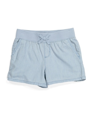Girls Knit Fashion Shorts