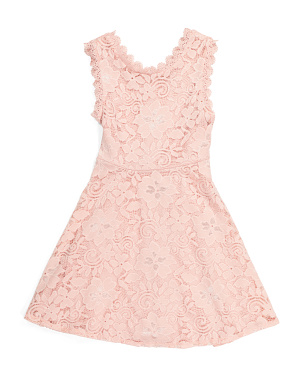 Big Girls Lace Dress